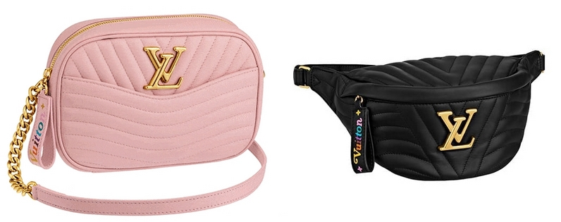 Louis Vuitton New Wave Camera bag and Bum Bug