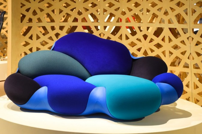 Objets Nomades' Bomboca Sofa at Design/Miami 2017