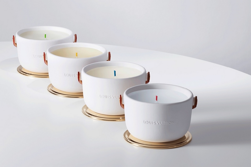 Louis Vuitton RED Candles 2019