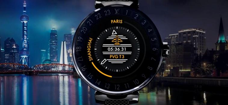 Louis Vuitton Tambour Horizon Connected Watch-2017