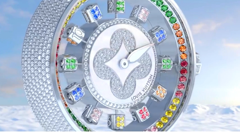 Louis Vuitton Tambour Spin Time Air Collection