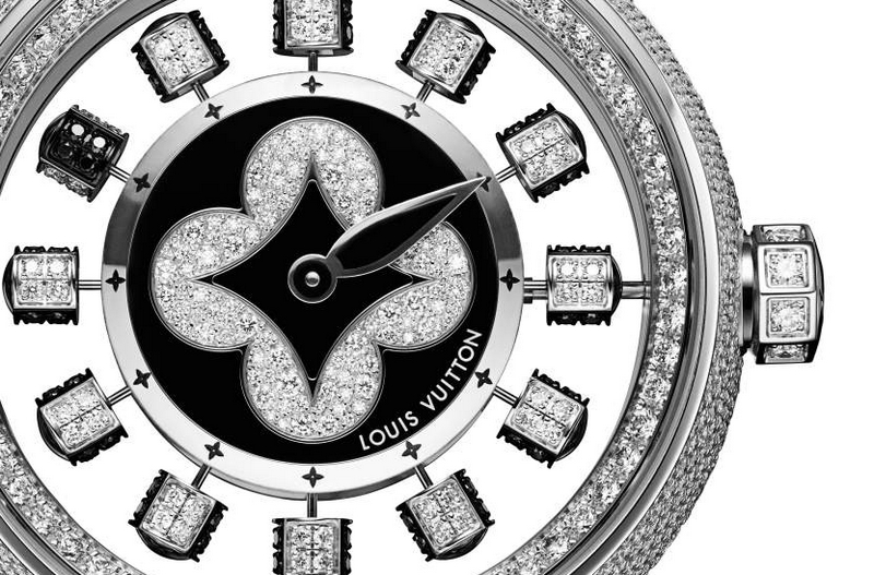 Louis Vuitton Tambour Spin Time Air Paved watch 2019-