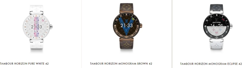 Louis Vuitton Tambour Watch Collection