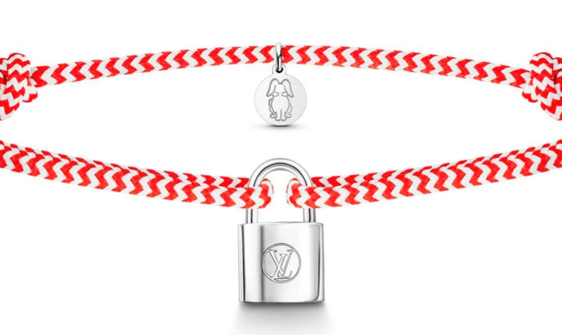 Louis Vuitton Unicef 2018 project-a New Silver Lockit Bracelet to Help Children at Risk-2018