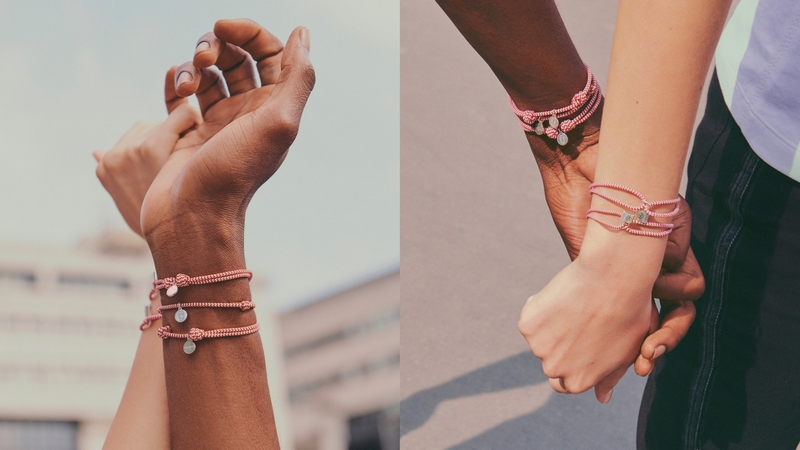 Louis Vuitton Unicef 2018 project-a New Silver Lockit Bracelet to Help Children at Risk