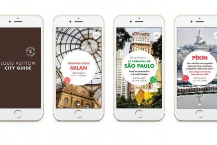 """""""Feel like travelling?"""" Louis Vuitton City Guides App"""