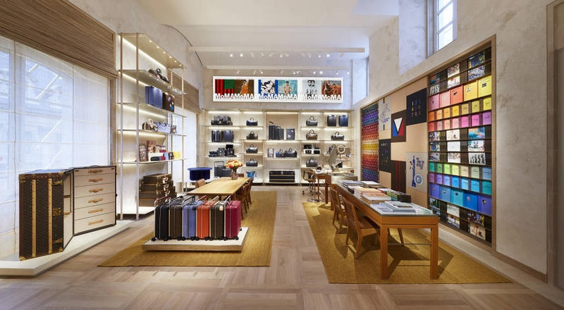 Louis Vuitton opened the doors to its new Maison Louis Vuitton Vendôme at 2 Place Vendôme in Paris