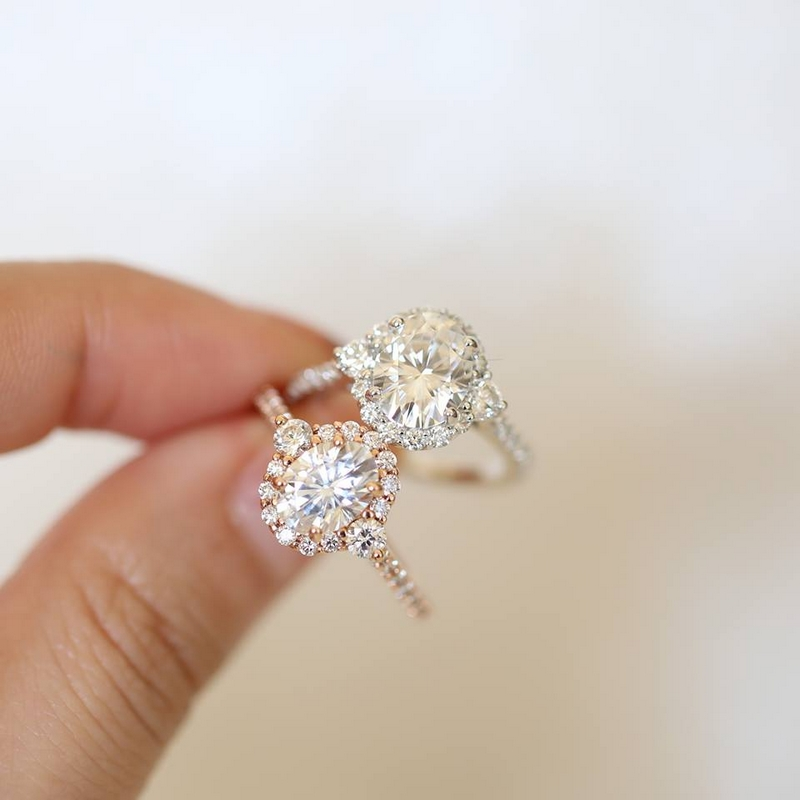 Love & Promise Jewelers Bridgette ring comes in all shapes & sizes