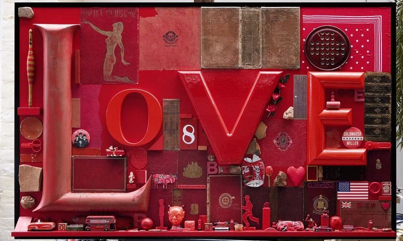 Love by Peter Blake