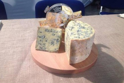 Love cheese? British Bath Blue crowned world champion 2014