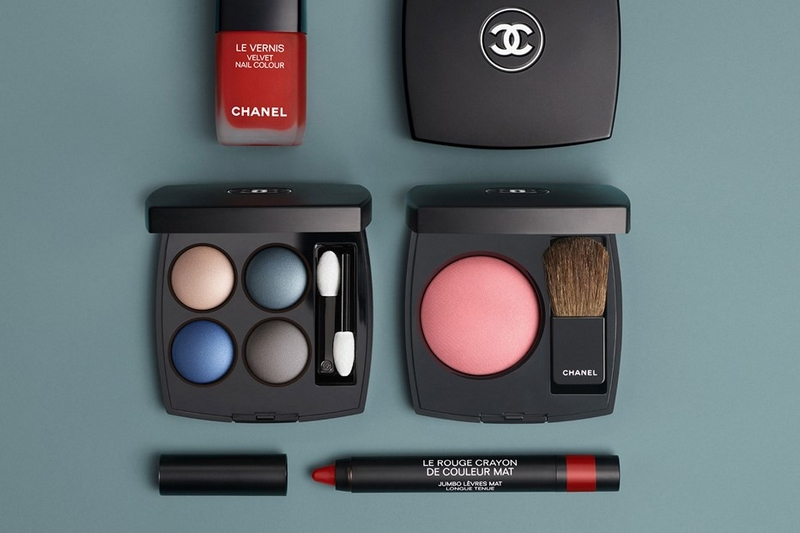 Lucia Pica's vision of Chanel matte make-up-