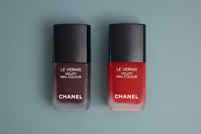 Lucia Pica's vision of Chanel matte make-up - vernis