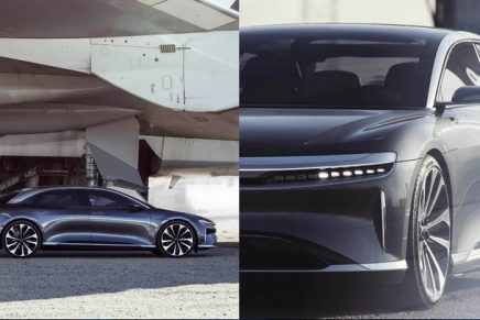 Lucid Air's luxury all-electric sedan is the longest range electric vehicle to date
