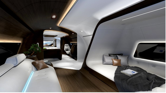 Lufthansa Inspired by AMG cabin-photos
