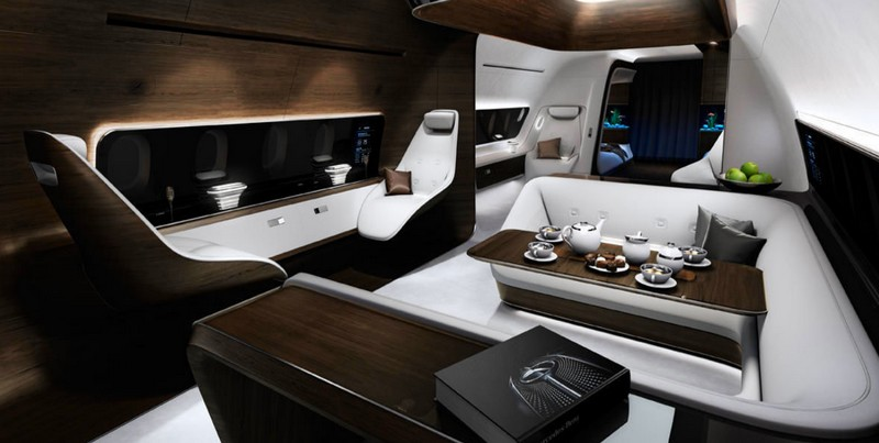 Lufthansa Inspired by AMG cabin