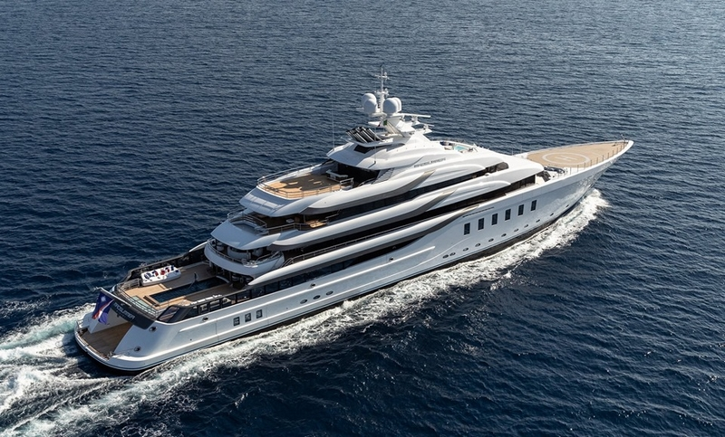 Lurssen Madsummer mega-yacht will celebrate her world debut at the Fort Lauderdale International Boat Show.