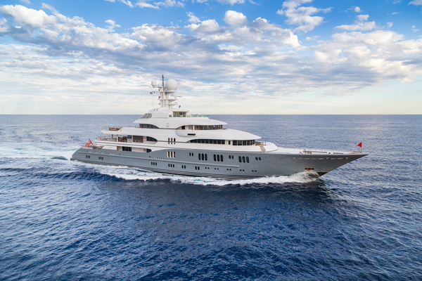 Lurssen TV yacht