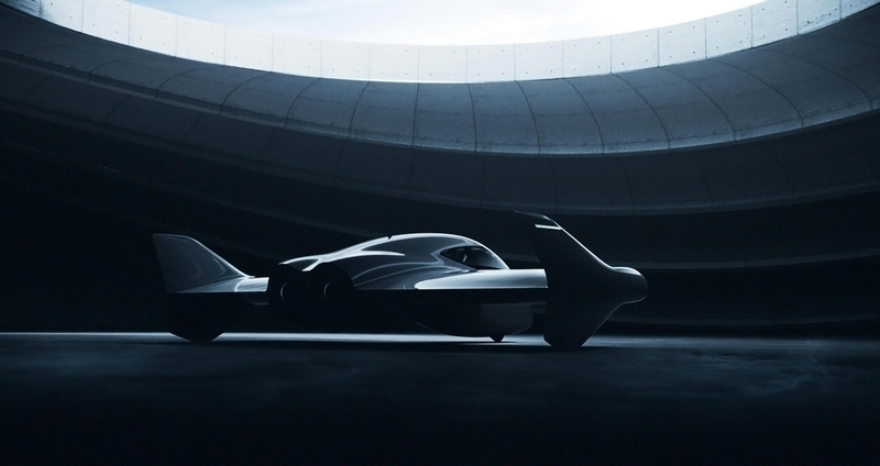 Luxury Flying cars - The luxe edition by Porsche and Boeing's Aurora