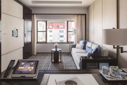 Largest hotel rooms in Beijing. 525 rooms = 230 suites