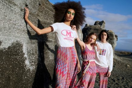 Express your personality and be proud of who you are with M MISSONI X YOOX