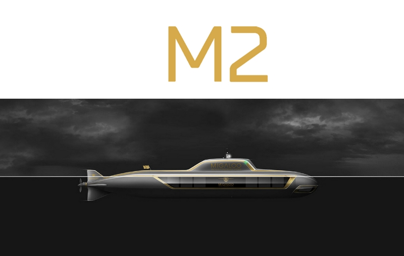 M2 submersible superyacht