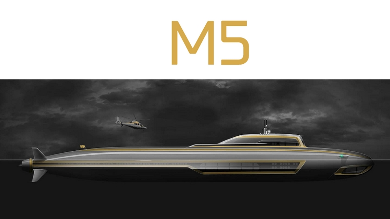 M5 submersible superyacht