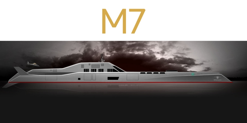 M7 submersible superyacht