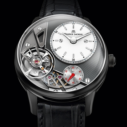 MAURICE LACROIX Masterpiece Gravity watch at Baselworl 2014-