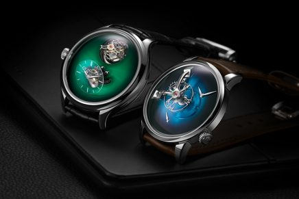 Unique collaborations: MB&F and H. Moser & Cie revisited the Legacy Machine 101