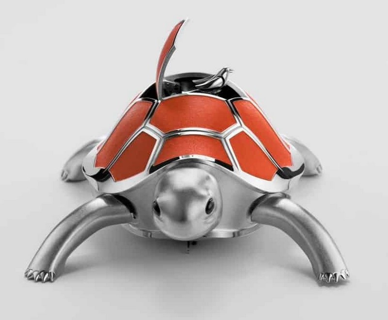 MB&F presents Kelys & Chirp a co-creation by Reuge and Nicolas Court-