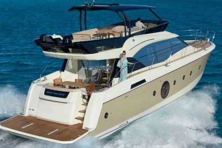Designed to be a vast terrace facing the open seas: the new Monte Carlo 6 (MC6)