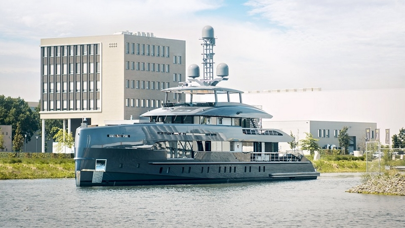 MCM x Heesen Yachts Project Boreas has been delivered-