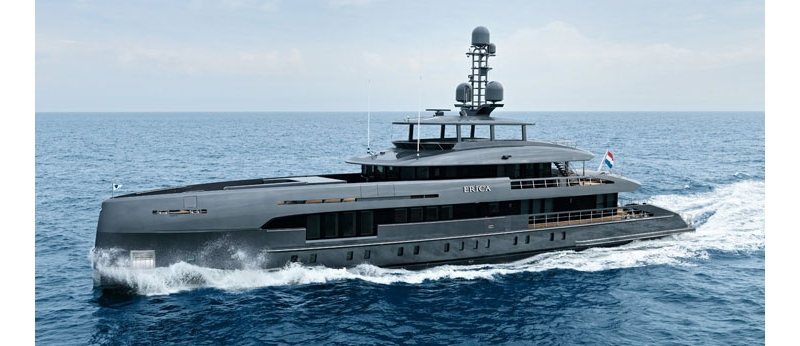 MCM x Heesen Yachts Project Boreas has been delivered