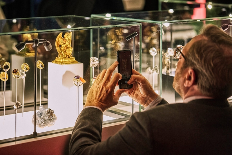 MEN'S RINGS - COLLECTION YVES GASTOU images exhibition