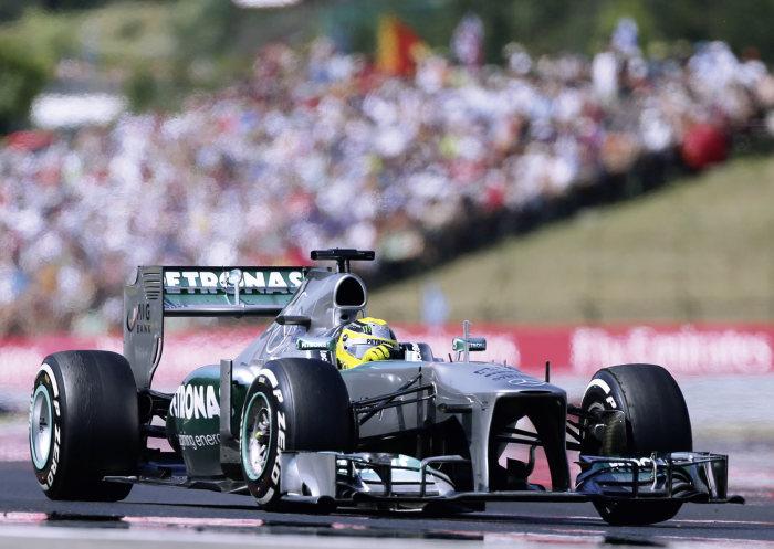 MERCEDES AMG PETRONAS F1 W04 Formula One racing car of the MERCEDES AMG PETRONAS team in the 2013 season