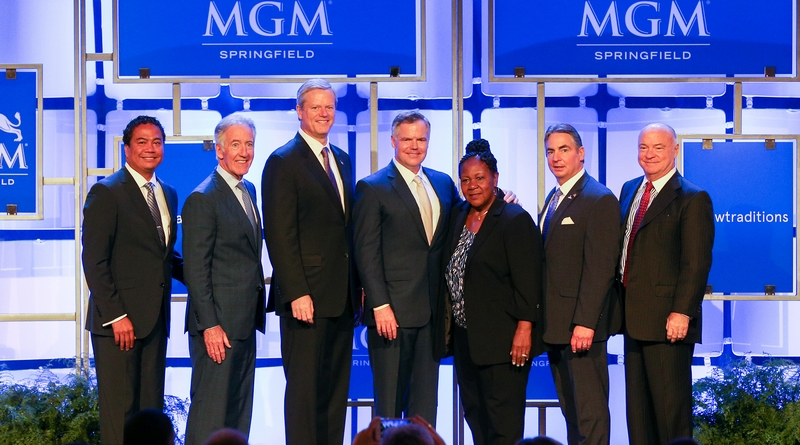 MGM Resorts & MGM Springfield executives joined government officials for a news conference Aug. 23.