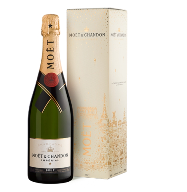 MOËT & CHANDON IMPÉRIAL BRUT FRENCH ART-DE-VIVRE GIFT BOX