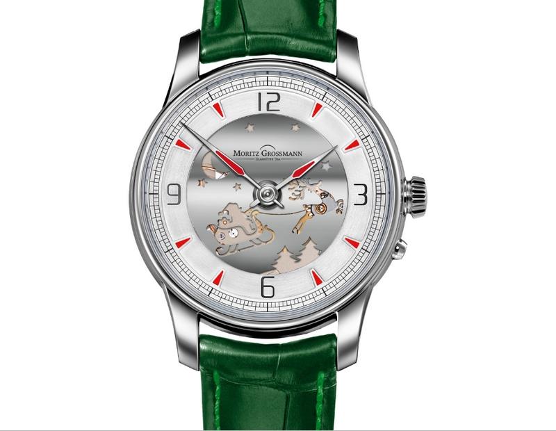 MORITZ GROSSMANN, ATUM PURE SANTA CLAUS, MG-002084 watch 2018 capsule colleciton