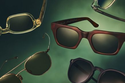 A well-crafted pair of sunglasses is often the definitive sartorial touch that completes a man's wardrobe