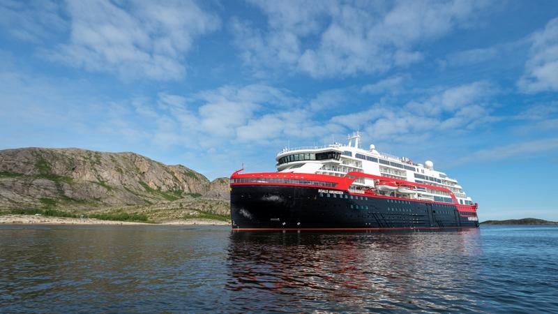 MS Roald Amundsen Antarctica ship