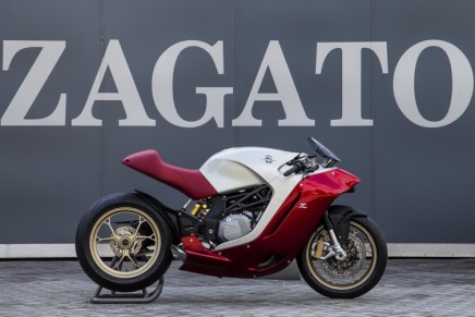 MV Agusta F4Z super motorbike – Zagato's digression beyond the car universe