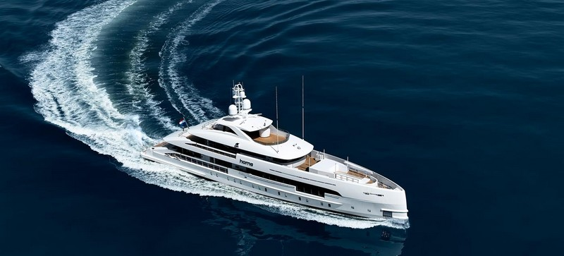 MY Home made her début as world premiere at Monaco Yacht Show 2017-
