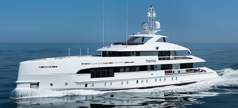 MY Home made her début as world premiere at Monaco Yacht Show 2017