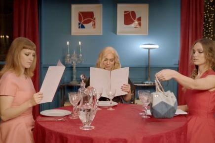 Prismick Denim: Camille Seydoux for Roger Vivier