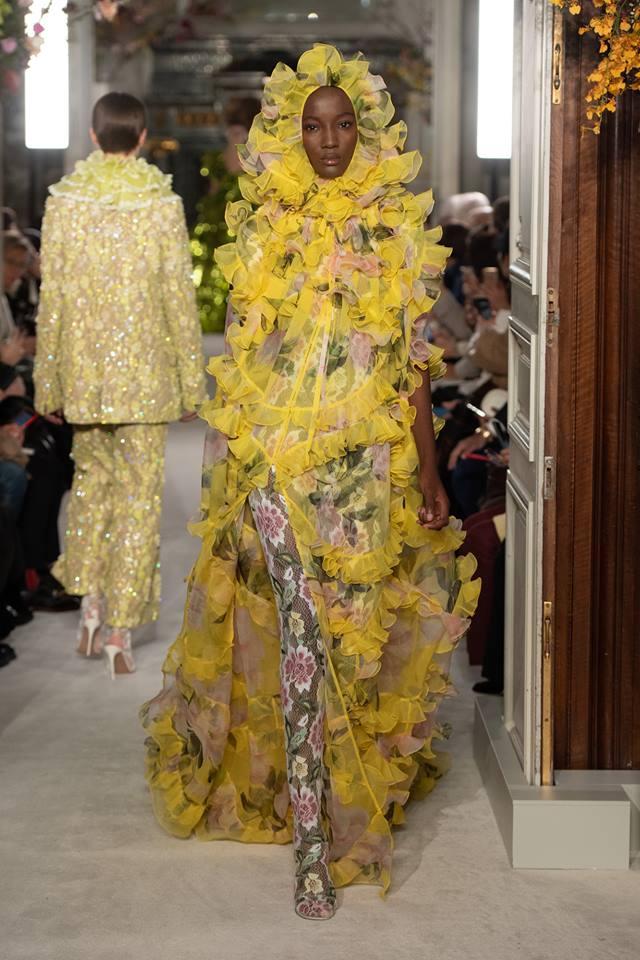 Magnolia look - Valentino Haute Couture SS 2019