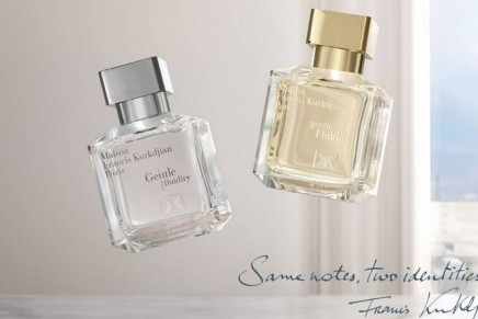 Gentle Fluidity duo, one name for the two new olfactory signatures by Maison Francis Kurkdjian