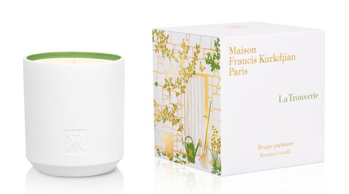 Francis kurkdjian unveils homes sweet homes scented candles for A la rose maison francis kurkdjian