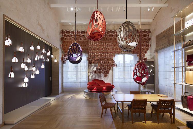 Maison Louis Vuitton Vendôme at 2 Place Vendôme Paris-interior gallery