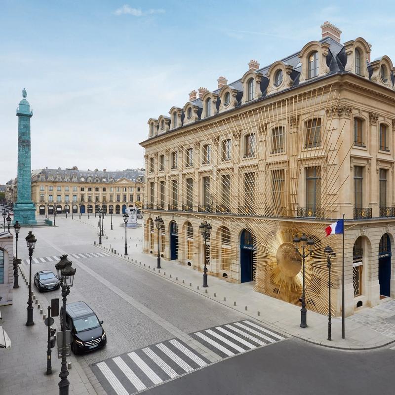 Maison Louis Vuitton Vendôme at 2 Place Vendôme