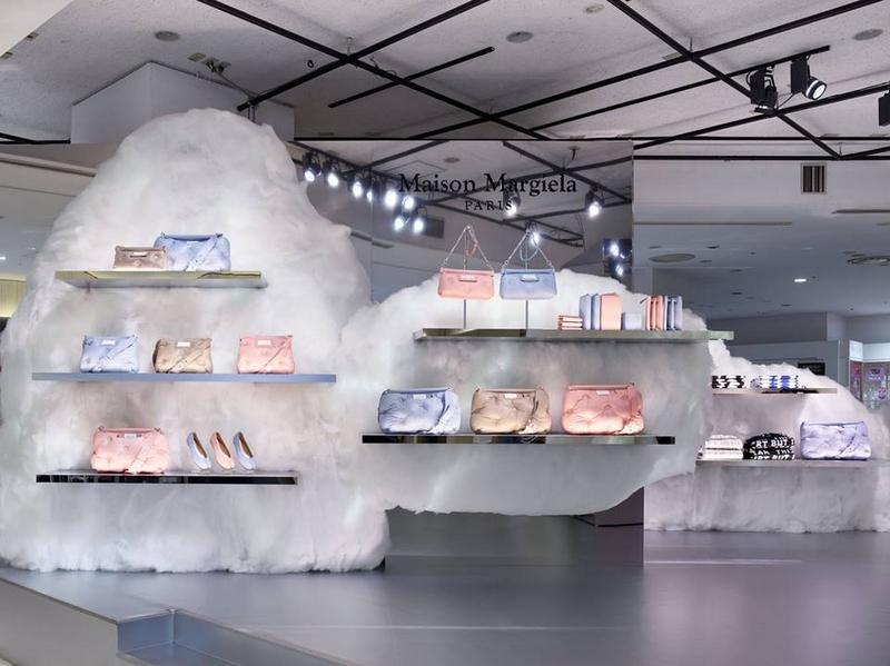Maison Margiela pop-up store at Isetan Shinjuku in August 2018